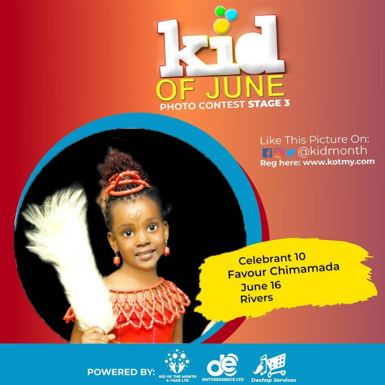 Kid Of June 2021 In A Glance